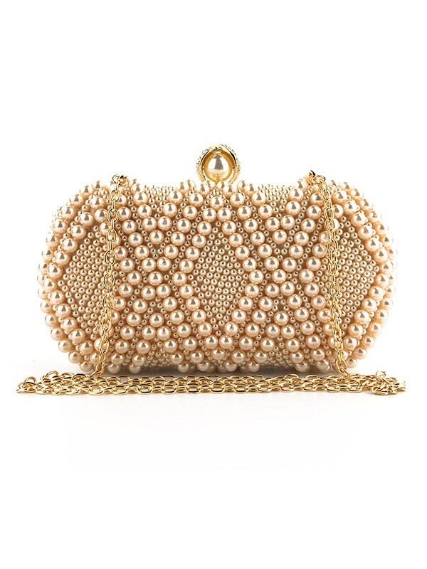 Graceful Pearl Handbags For Evening/Party