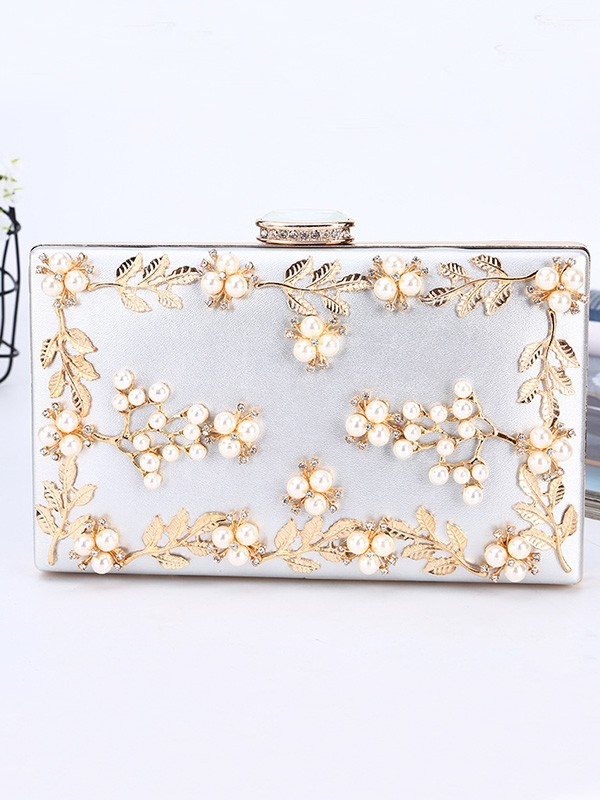 Gorgeous Beading PU Handbags For Evening/Party
