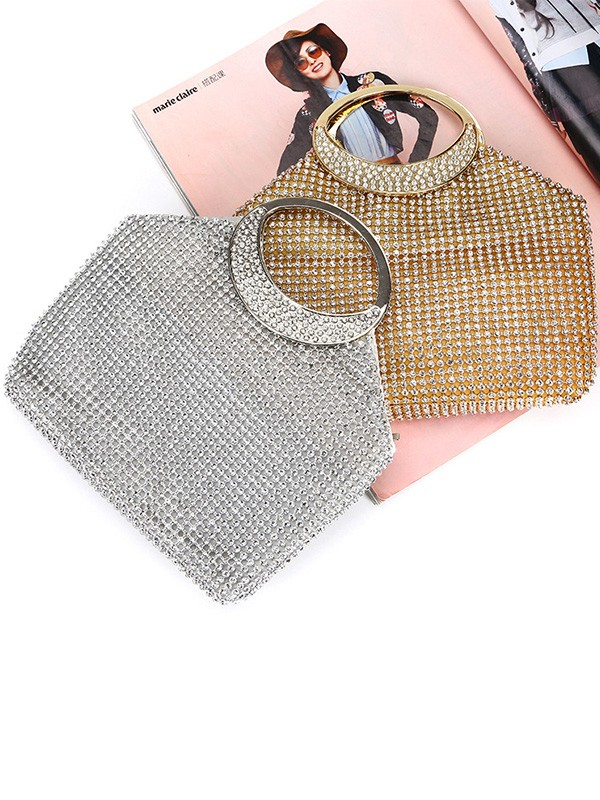 Elegant Rhinestone Handbags For Evening/Party