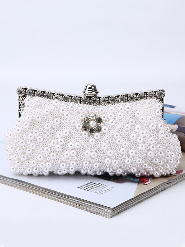 Charming Pearl Handbags For Evening/Party