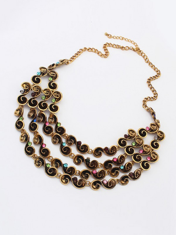 Occident Hyperbolic Personality multi-layered Hot Sale Necklace