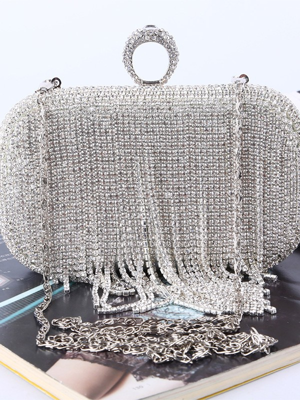 Attractive Rhinestone Handbags For Evening/Party