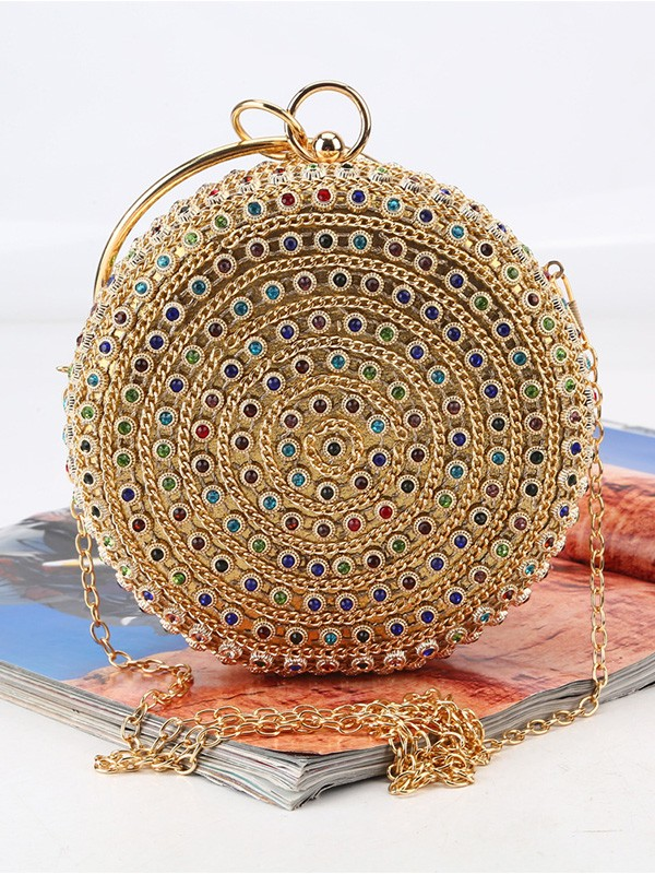 Luxurious Rhinestone Handbags For Evening/Party