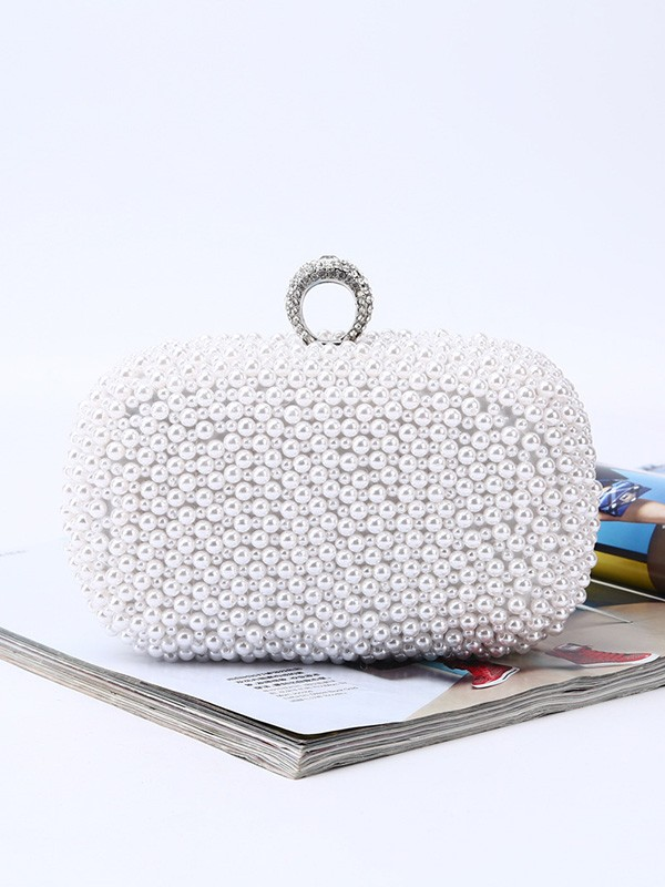 Attractive Pearl Handbags For Evening/Party