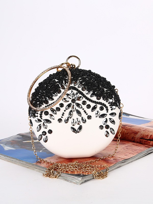 Luxurious Satin Handbags For Evening/Party