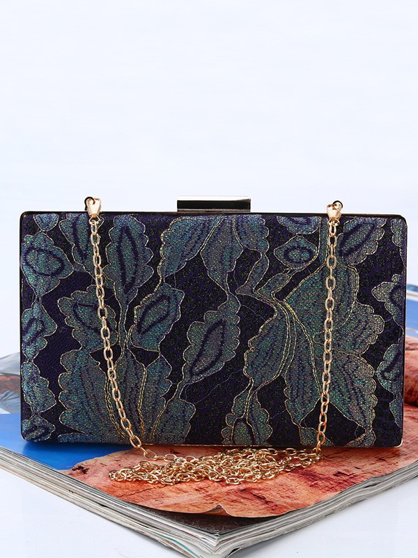 Graceful Silk Handbags For Evening/Party
