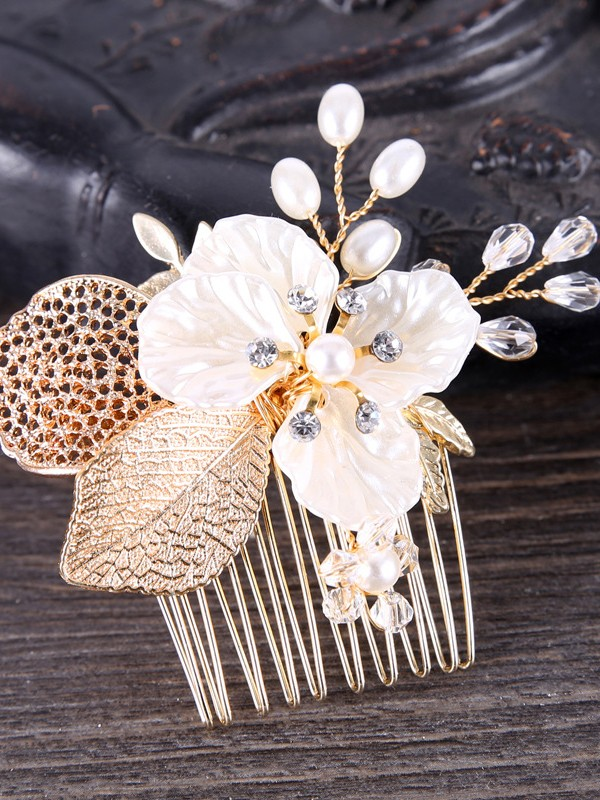 Elegant Crystal Headpieces