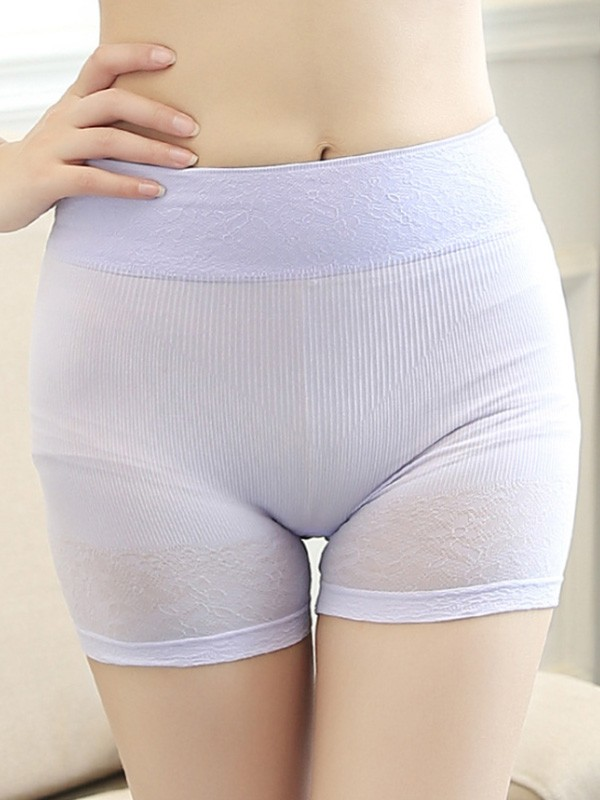 Women's Soft Nylon Seamless Elastic Safety Pants & Safety Shorts