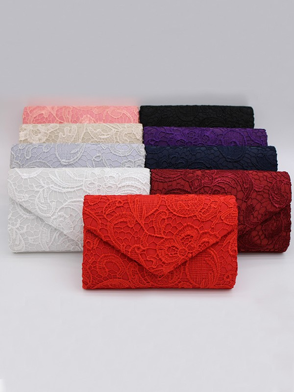Glamorous Lace Flowers Handbags For Evening/Party